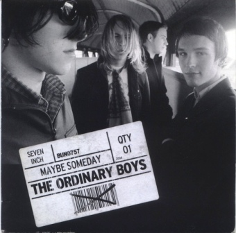 ORDINARY BOYS Maybe Someday front